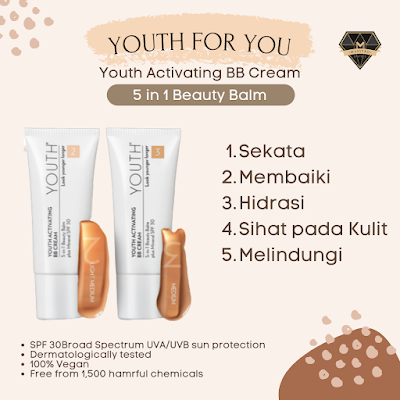 5 in 1 Beauty Balm - Youth BB Cream