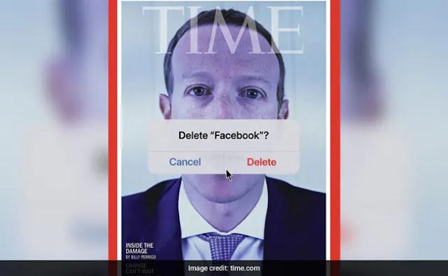 """مجلة """"التايم TIME"""" ساخرة تنشر صورة لـ مارك زوكربيرغ  time cover mark zuckerberg"""