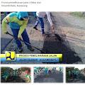 Dinas PUPR Lakukan Perbaikan Jalan Cilebar dan Kosambibatu Karawang