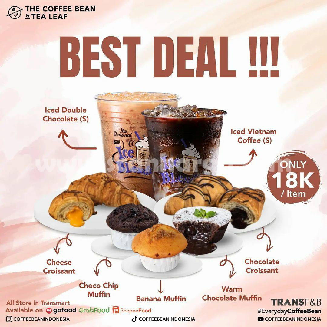 Promo Coffee Bean Best Deal only 18K /item