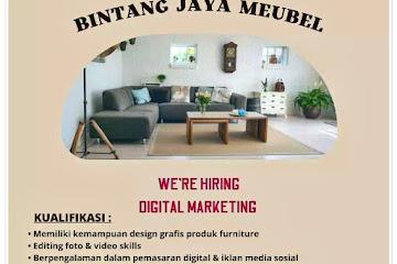 Loker Bandung Staff Digital Marketing Bintang Jaya Meubel