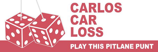 Carlos Car Loss: play this Pitlane Punt