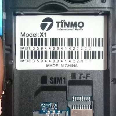 Tinmo X1 Flash File