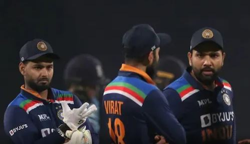 Indian Cricket Team's Jersey For ICC T20 World Cup 2021