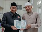 Pengajar Karantina Tahfizh Nasional DI Silaturahim ke Pakar Ilmu Al Qur'an Dr. KH Ahsin Sakho Muhammad