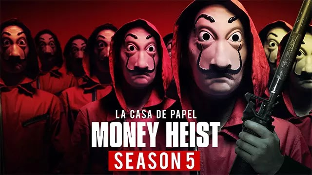 Money Heist All Seasons and All Episode in Hindi