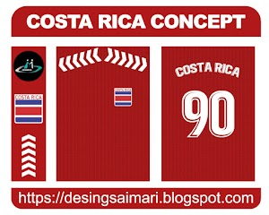 Costa Rica Vector Concept FREE DOWNLOAD