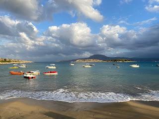 View of Marathi Beach.