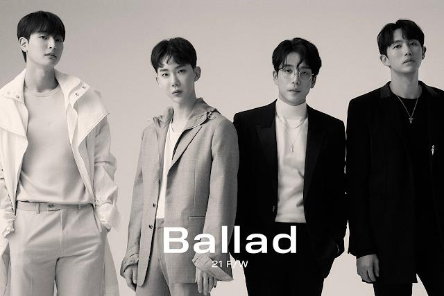 2AM regresa el K-Pop como grupo con su comeback con  BALLAD 21 F/W