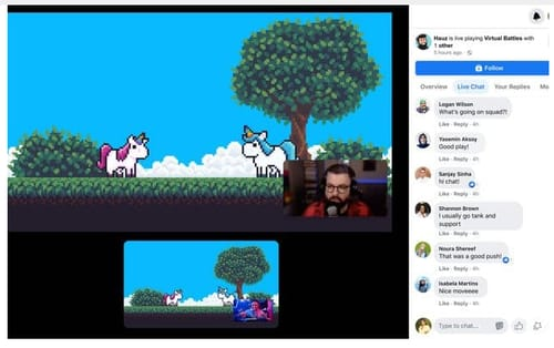 Facebook Adds Shared Broadcasting to Facebook Gaming