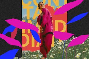 Anna Ratto apresenta a capa do disco 'serelepe' em que interpreta a obra de Arnaldo Antunes