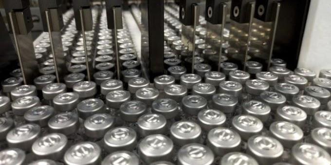 Lote com mais de 1 milhão de vacinas contra covid-19 chega ao Brasil