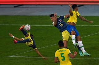 تعرف على موعد مباراة كولومبيا ضد البرازيل والقنوات الناقلة لها