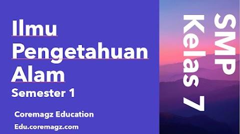 Buku Siswa Mata Pelajaran Ilmu Pengetahuan Alam Kelas 7  Semester 1 Kurikulum 2013 Revisi 2018/2019