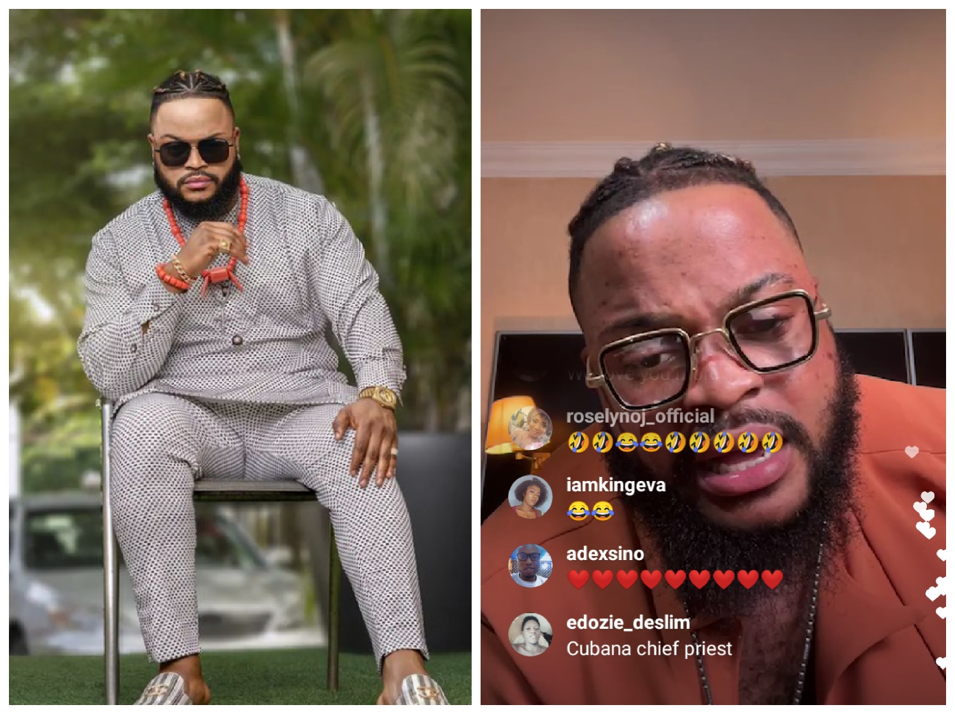 BBNaija: A fan bought an iPhone 13 for me, the love is too much - Whitemoney says in his Instagram live session