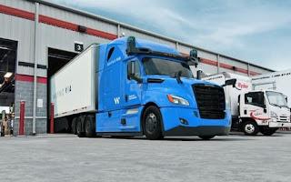 Waymo builds autonomous truck hub in Texas