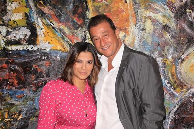 Roberto Rowntree e Gyselle Soares são os convidados da noite