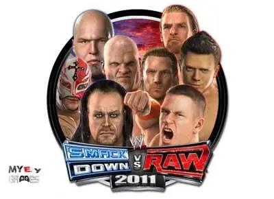 تحميل لعبة WWE SmackDown vs Raw 2011 كاملة للكمبيوتر برابط مباشر من ميديا فاير