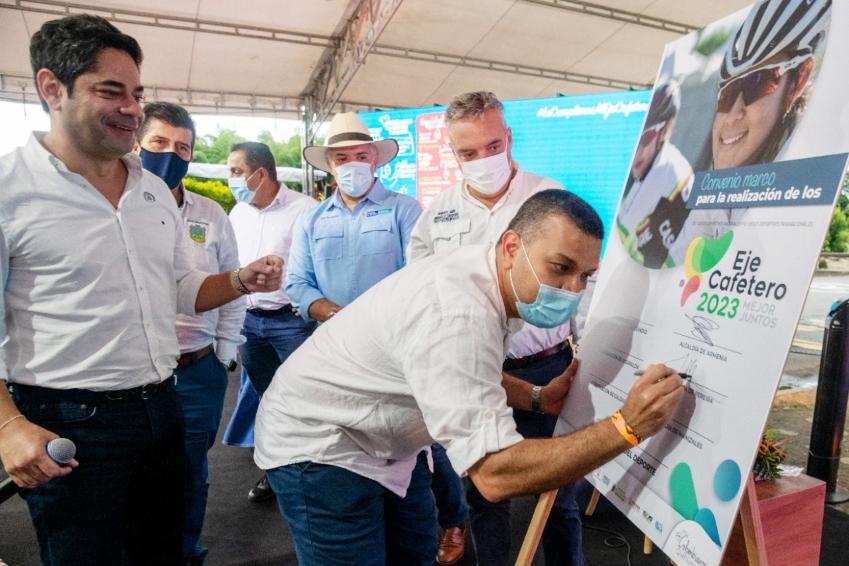 Alcalde Carlos Maya ratifica el compromiso de su administración con los Juegos Nacionales 2023