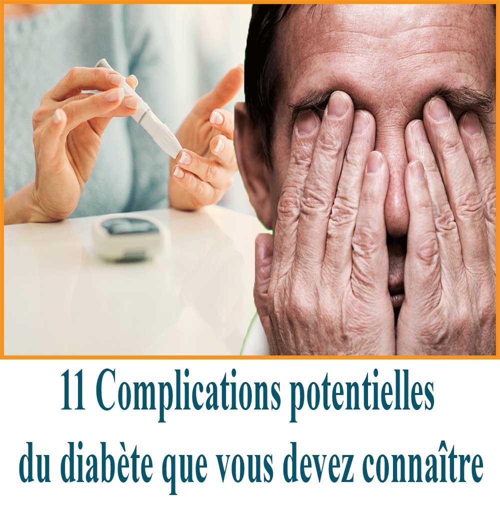 Complications potentielles du diabète que vous devez connaître