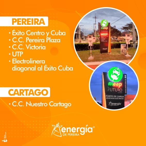 MEEP: unidad de negocios Movilidad Eléctrica Energía de Pereira