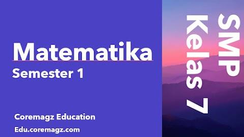 Buku Siswa Mata Pelajaran Matematika Kelas 7 Semester 1 Kurikulum 2013 Revisi 2018/2019