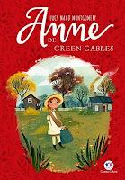 Capa vermelha do livro Anne de Green Gables
