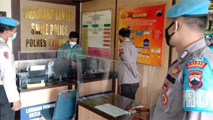 Propam Polres Kebumen Gelar Razia kepada Personel