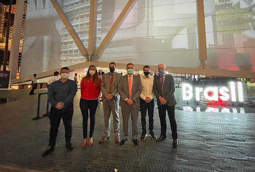 Aiba confere as mais recentes inovações tecnológicas na Expo 2020 Dubai