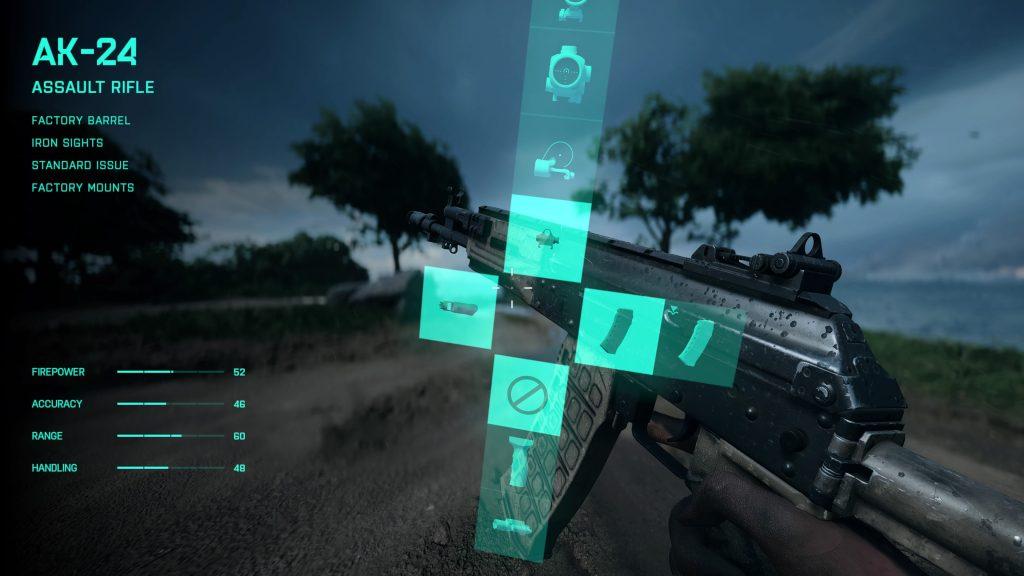 AK-24 - assault rifle