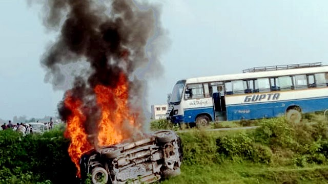 Lakhimpur Scandal: BJP पार्षद सुमित जायसवाल समेत चार गिरफ्तार, लाइसेंसी रिवाल्वर और तीन कारतूस बरामद