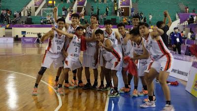 Tim Basket Putra Sulut Ukir Sejarah di PON XX Papua
