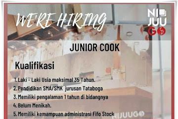Loker Bandung Junior Cook Ni Juu Go Bandung