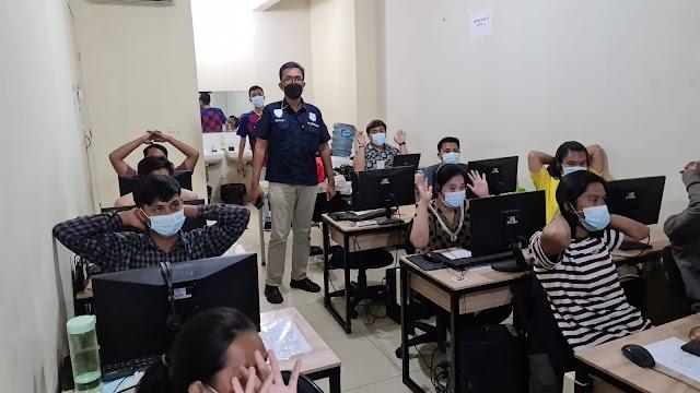 Dinilai Meresahkan Masyarakat, Kantor Pinjaman Online Ilegal di Gerebek Satreskrimsus Polres Jakarta Pusat