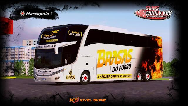 PARADISO G7 1600 LD - BANDA BRASAS DO FORRÓ
