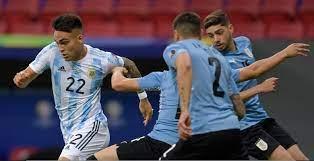 تقرير مباراة الأرجنتين ضد أوروجواي