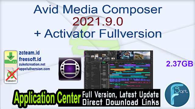 Avid Media Composer 2021.9.0 + Activator Fullversion