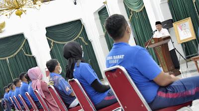 Wagub Jabar Lepas Atlet Rugbi Menyusul PON Papua
