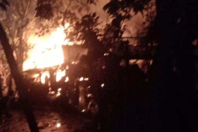 Tabung Gas Bocor, Dapur Warga di Sibulue Terbakar