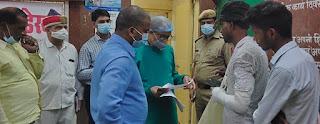 डीएम ने जिला अस्पताल का किया औचक निरीक्षण | #NayaSaberaNetwork