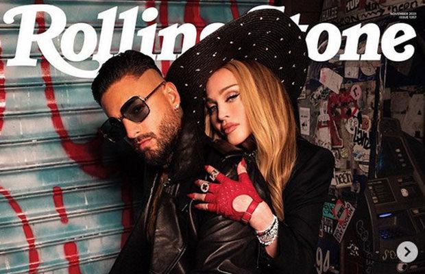 Maluma y Madonna se apoderan de la revista Rolling Stone