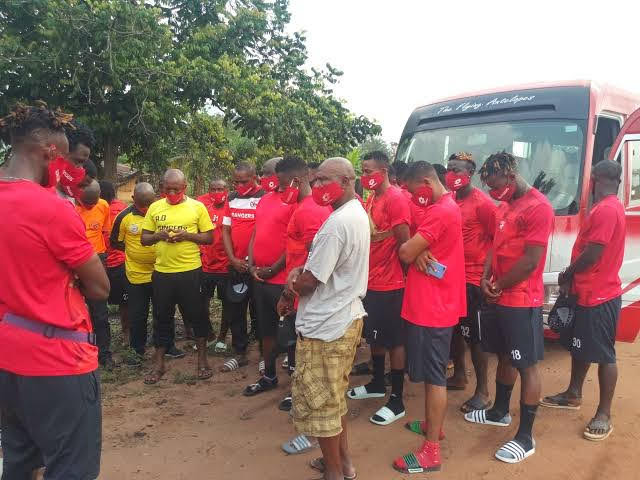 Ahead of New Season: Enugu Rangers Round Up Open Screening, Go into Close Camping in Nsukka