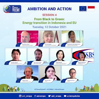 Uni Eropa Dorong Transformasikan Energi Fosil Menjadi Energi Hijau