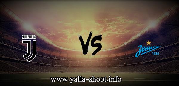 مباراة يوفنتوس وزينيت اليوم الأربعاء 20-10-2021 يلا شوت الجديد في دوري أبطال أوروبا