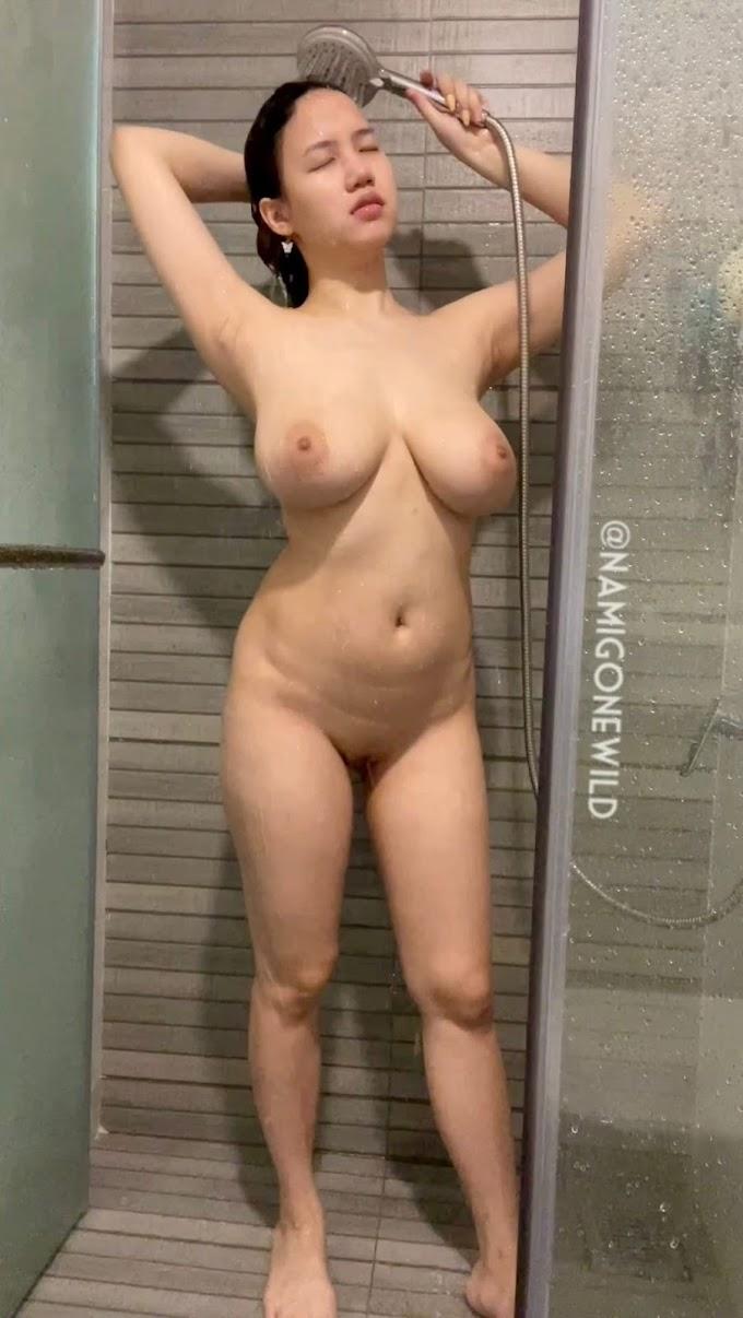 งาน Onlyfans น้องนามิ อาบน้ำ ทั้งหีทั้งนมน่าเลีย หุ่นน่าเย็ด เด็ดจริง (มีคลิป)