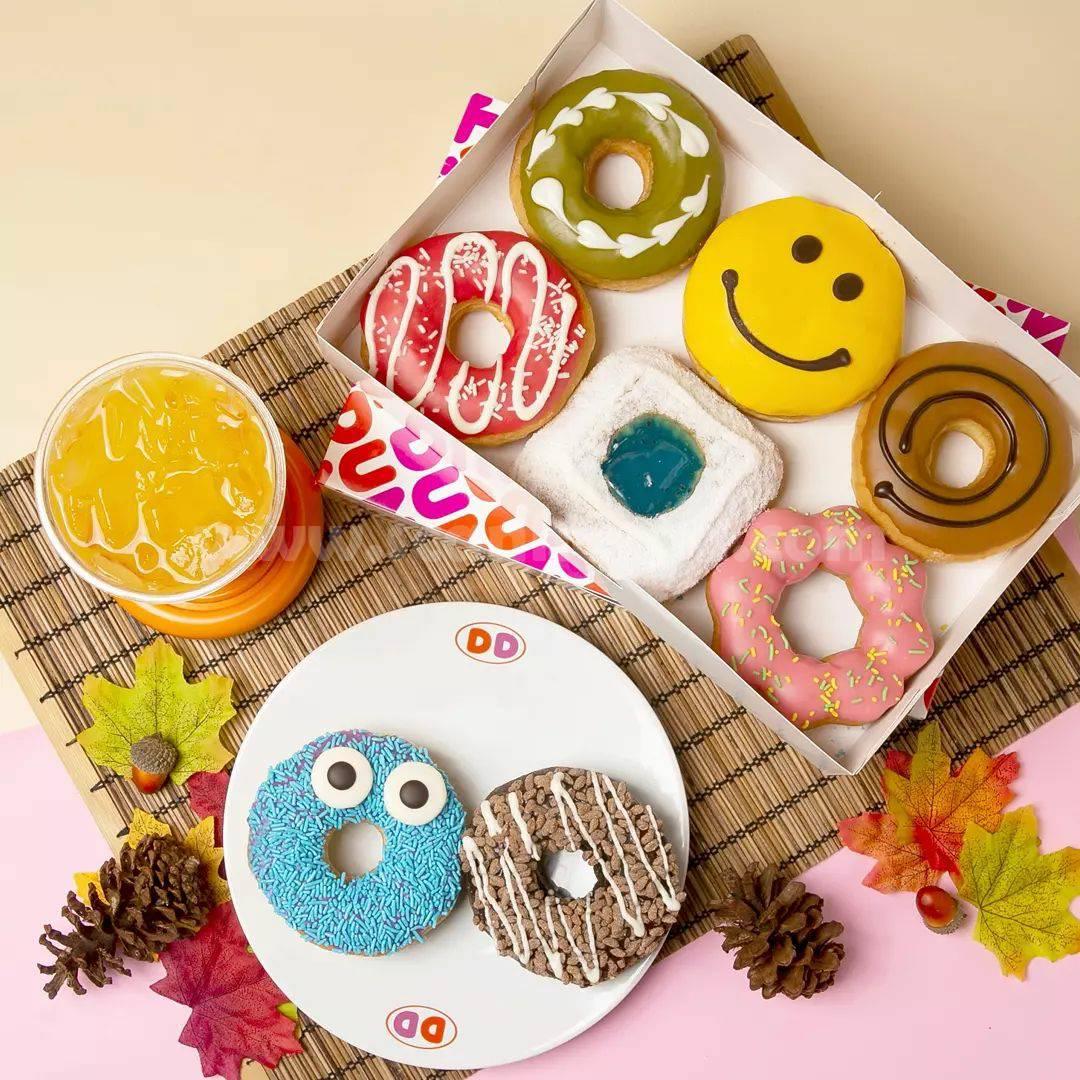 DUNKIN DONUTS Promo GRATIS 4 Donuts + 1 Minuman dengan Kartu Kredit / Debit BCA / Flazz