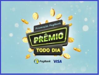 Promoção Prêmio Todo Dia PagBank Visa Cartão
