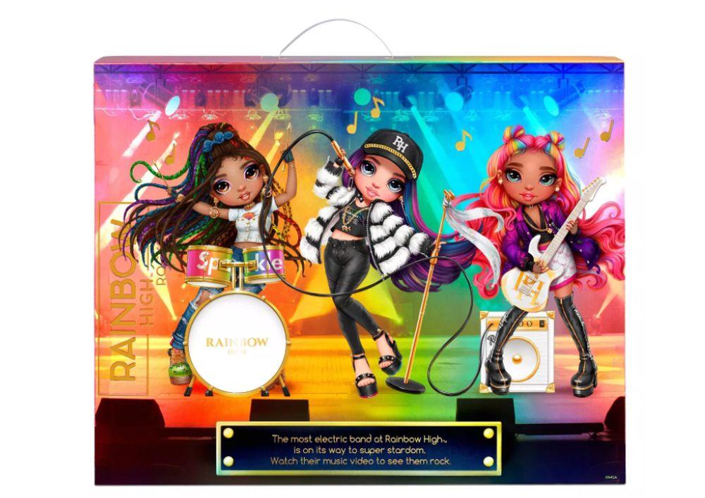 Рок музыкантки Rainbow High куклы 2021