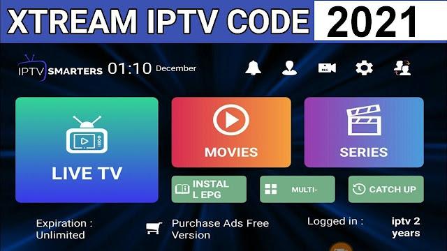 Free Xtream Code IPTV 2021 - Xtream codes