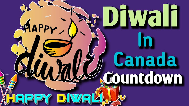 Diwali in Canada Countdown 2021